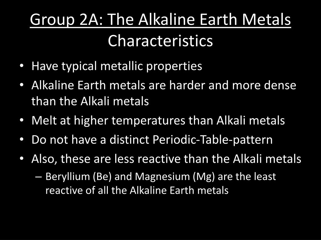 Why Alkali And Alkaline Earth Metals Are Reactive
