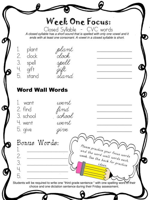 small resolution of Closed Syllable Words Worksheet   Printable Worksheets and Activities for  Teachers