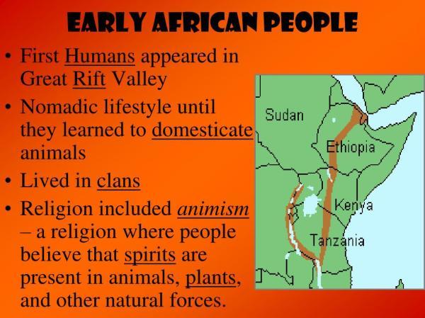 PPT Africa PowerPoint Presentation ID5538345