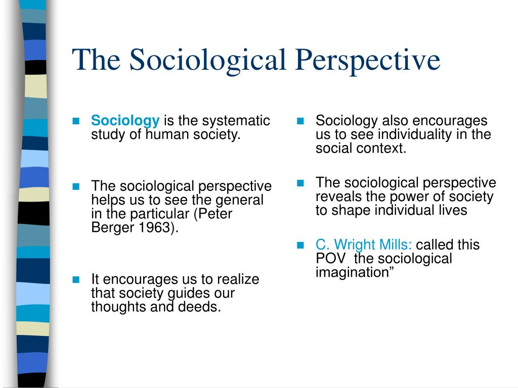 What Is Sociological Perspective