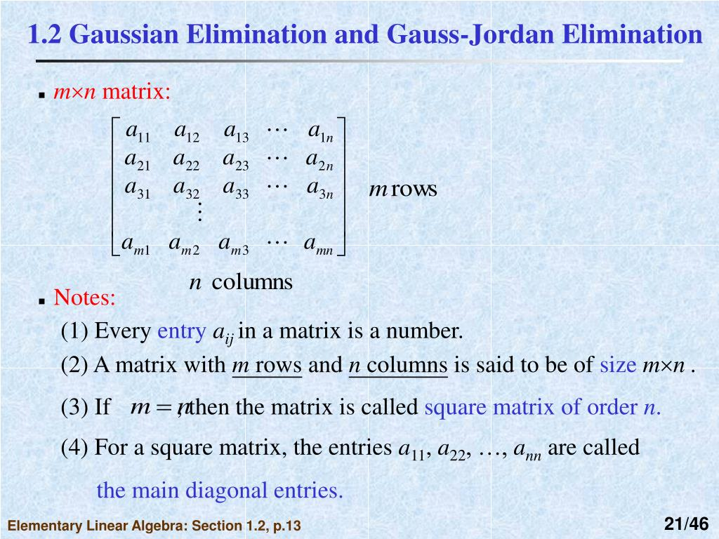 PPT - Chapter 1 Systems of Linear Equations PowerPoint Presentation - ID:5580975