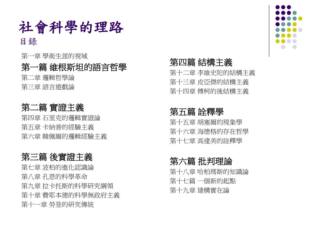 PPT - 本土心理學的發展 與儒家關係主義 PowerPoint Presentation - ID:5582365