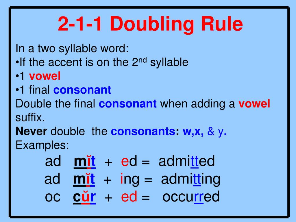 hight resolution of Double Consonant Words For 2nd Grade - Letter