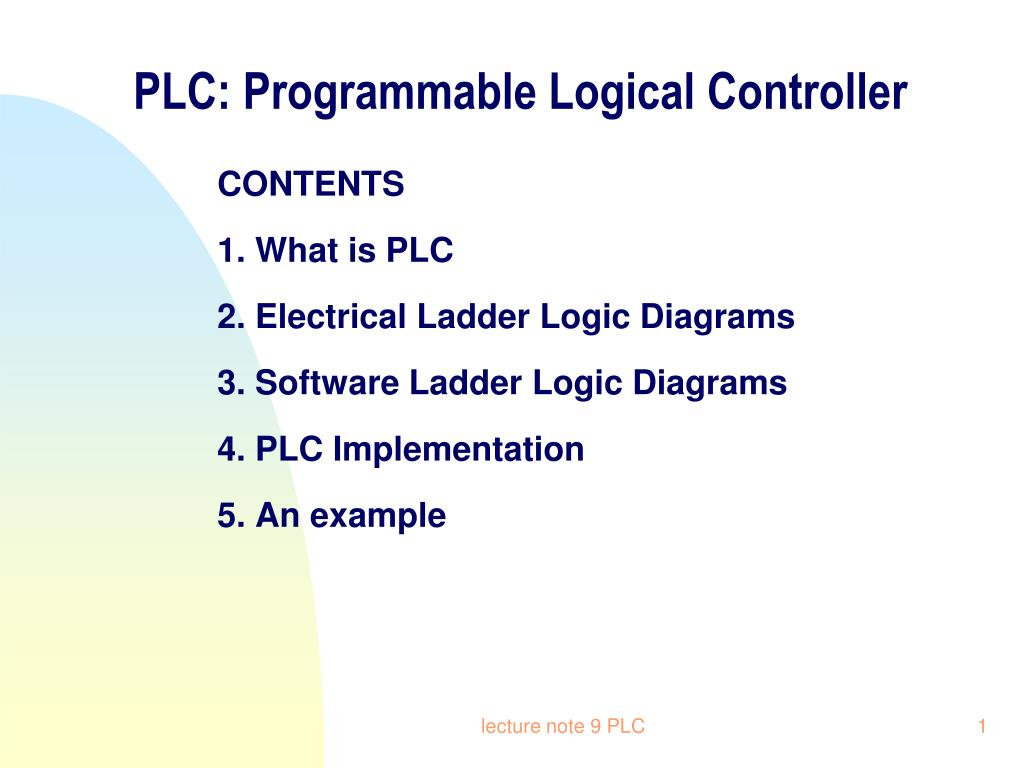hight resolution of plc programmable logical controller n