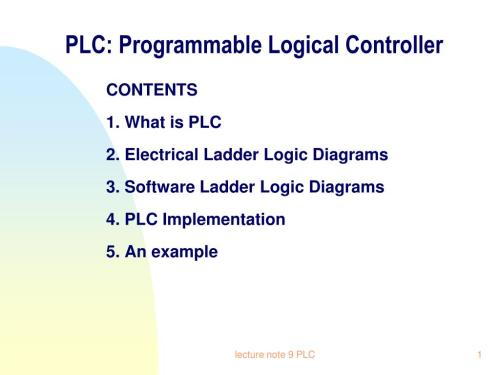 small resolution of plc programmable logical controller n