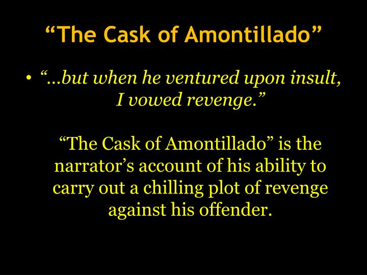 the cask of amontillado story diagram religious beliefs venn plot triangle for gang related soundtrack imdb an overview a rhetorical theory narrative including brief history and application to poe s answers aa similarity
