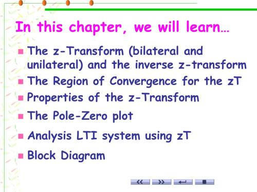 small resolution of in this chapter we will learn the z transform