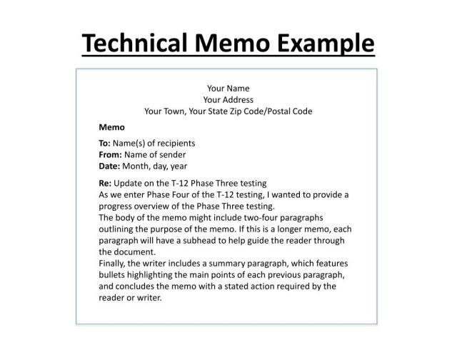 PPT - Memo Writing PowerPoint Presentation, free download - ID:25
