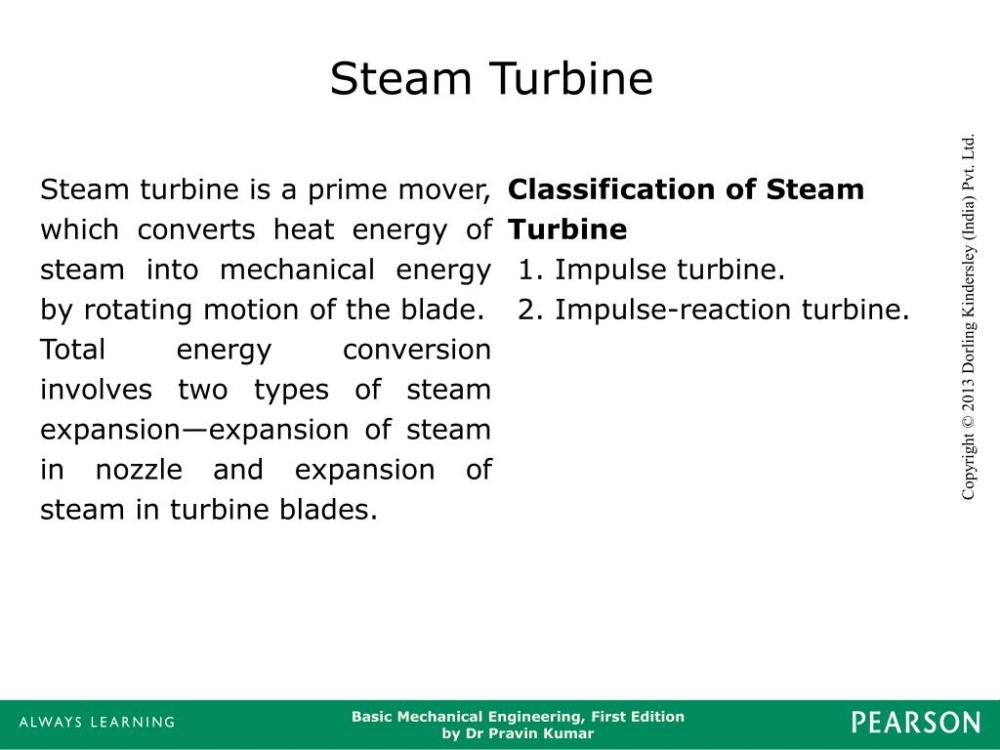 medium resolution of steam turbine steam turbine is a prime mover which converts heat energy of steam into mechanical energy by rotating motion of the blade