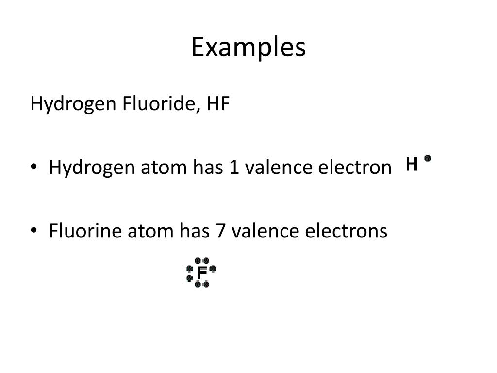 hight resolution of examples hydrogen fluoride