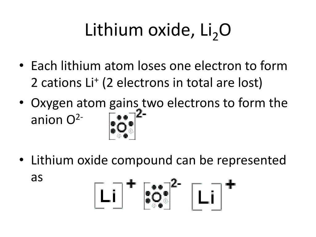 hight resolution of lithium dot diagram wiring diagram data dot diagram for li