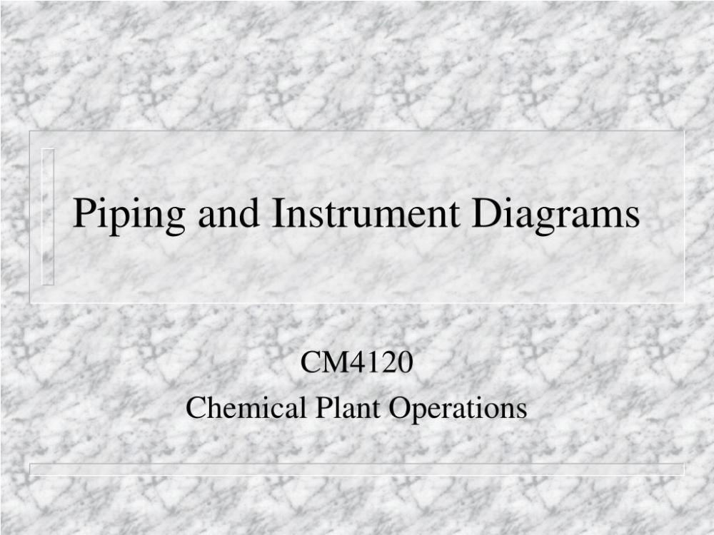 medium resolution of piping and instrument diagrams n