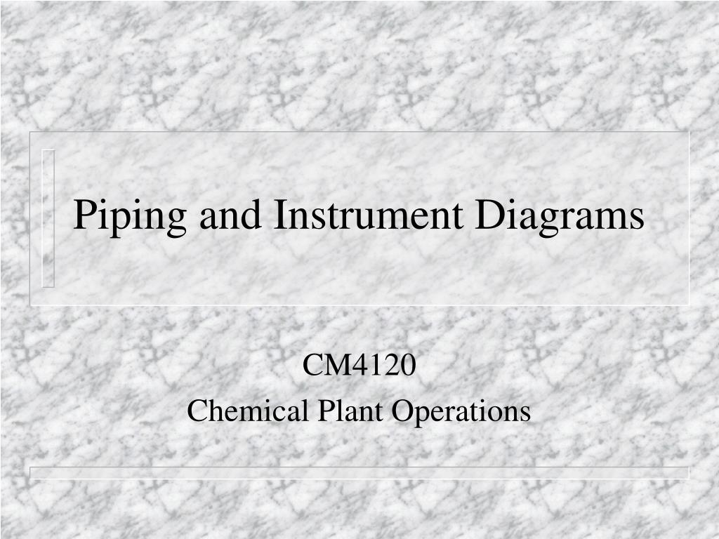 hight resolution of piping and instrument diagrams n