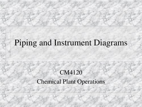 small resolution of piping and instrument diagrams n