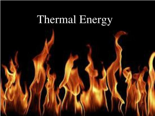small resolution of thermal energy powerpoint ppt presentation