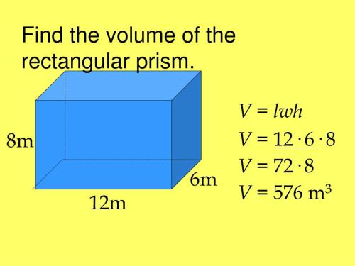 small resolution of Volume Of Rectangular Prism Worksheet   Printable Worksheets and Activities  for Teachers