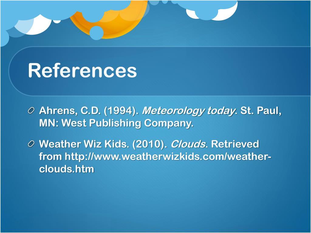 Weather Wiz Kids Com Clouds