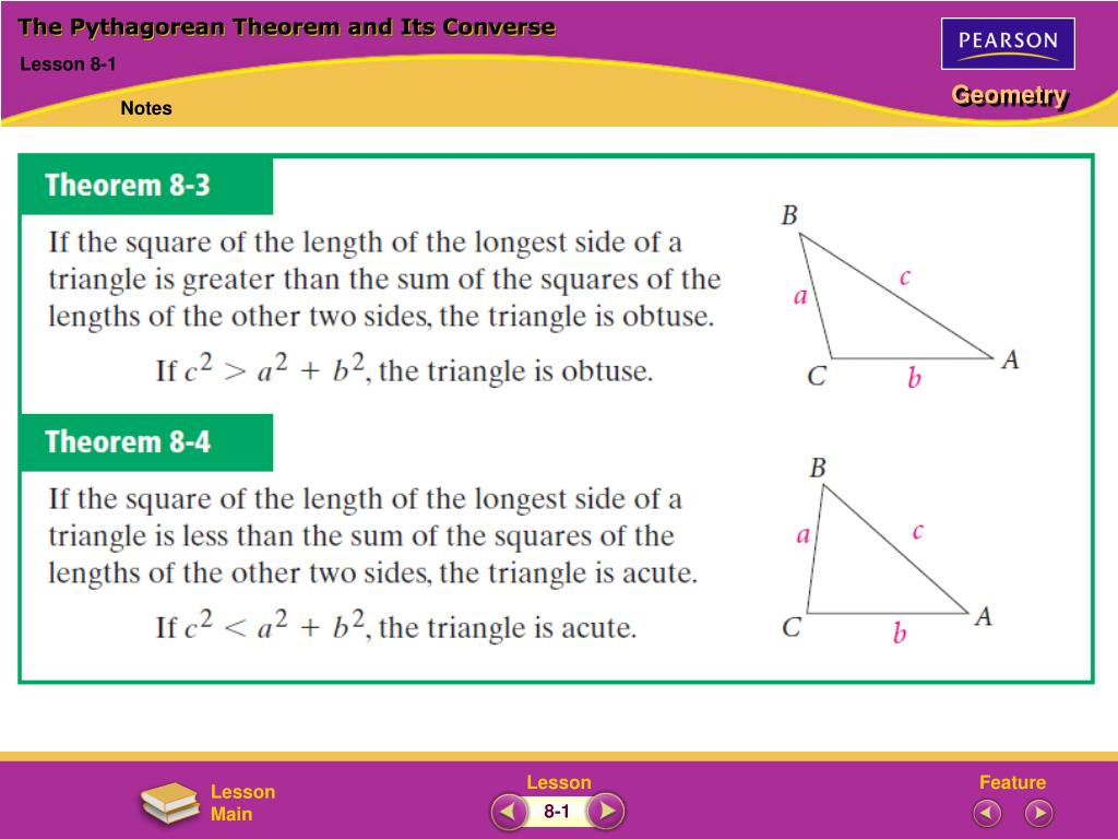 hight resolution of مركز جامعة طعام the pythagorean theorem and its converse worksheet -  14thbrooklyn.org