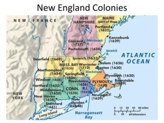 PPT New England Colonies PowerPoint Presentation free download ID:5835551