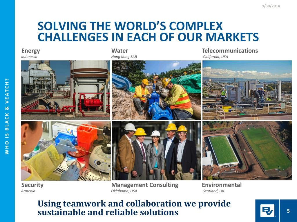 hight resolution of solving the world s complex challenges in each of our markets
