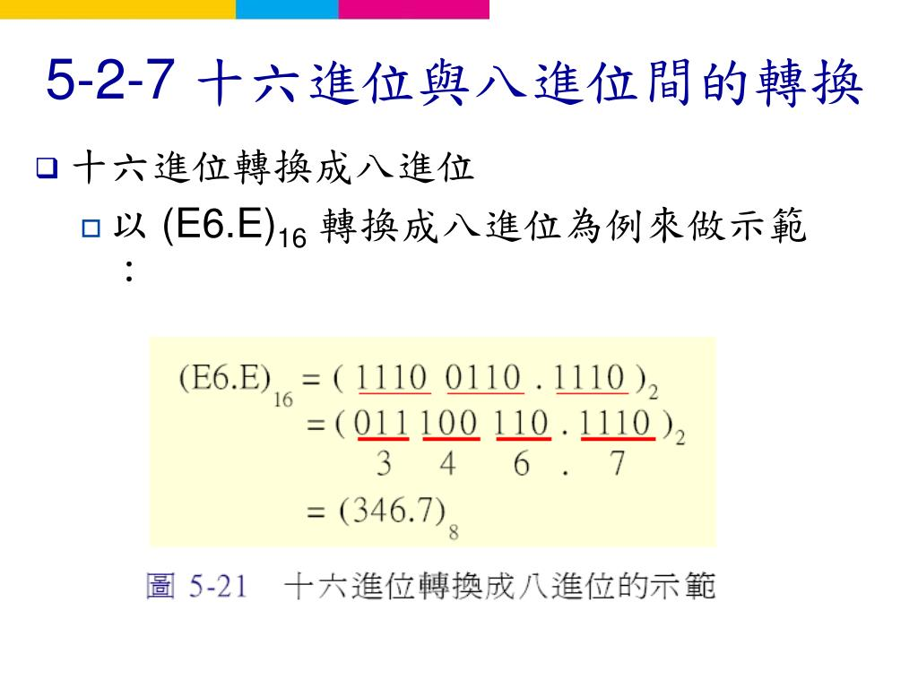 PPT - 第 5 章 數字系統與資料表示法 PowerPoint Presentation - ID:5954488