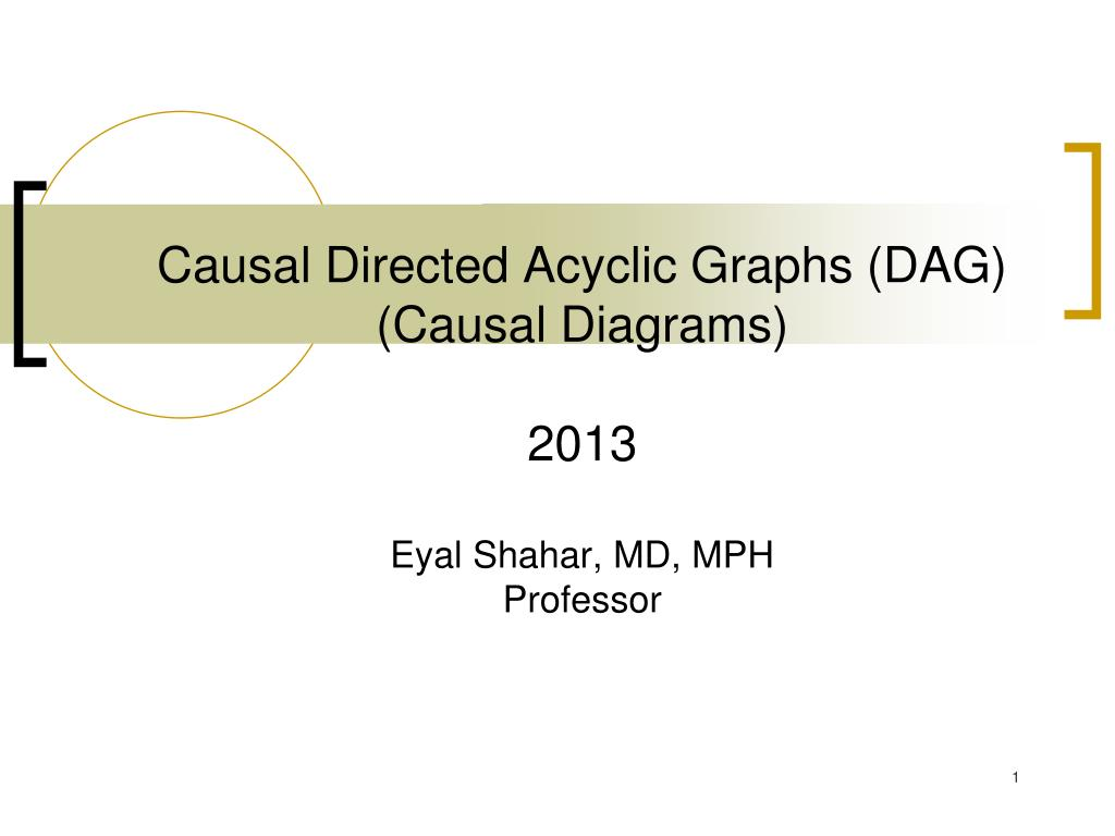 hight resolution of causal directed acyclic graphs dag causal diagrams 2013eyal