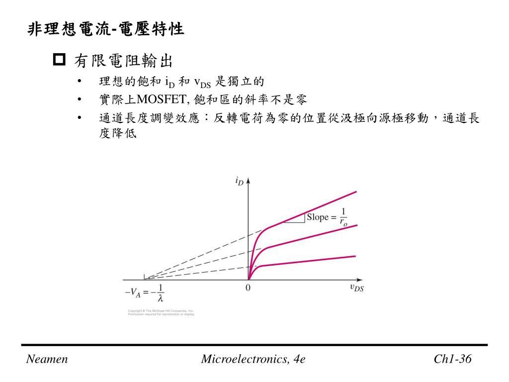 PPT - 微電子電路分析與設計 PowerPoint Presentation, free download - ID:6042941