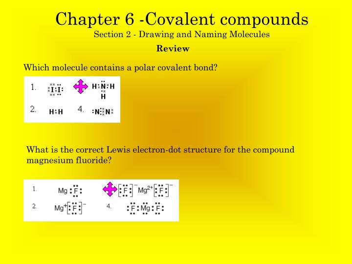 electron dot diagram for fluorine goldwing trailer wiring ppt - chapter 6 -covalent compounds section 2 drawing and naming molecules powerpoint ...