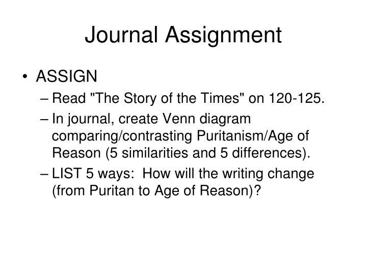 pilgrims vs puritans venn diagram harley davidson wiring diagrams and schematics ppt puritanism unit one powerpoint presentation id 6116210 journal assignment