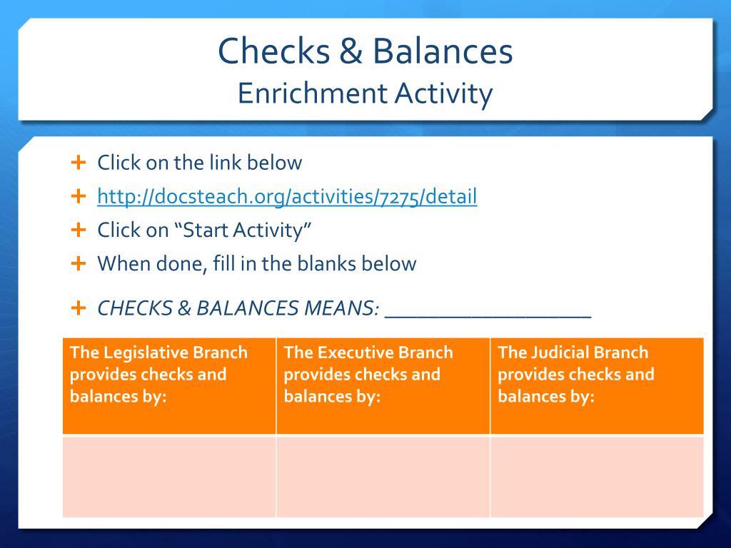 Sheppard Software Checks And Balances