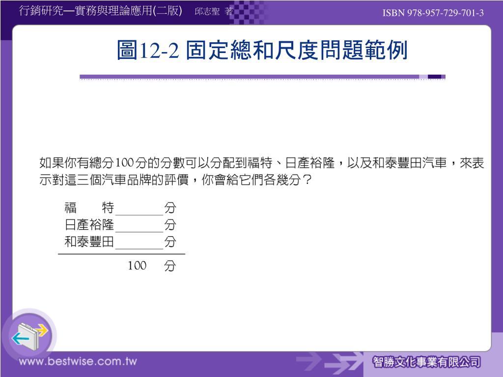 PPT - 第 12 章 行銷研究的問卷設計 PowerPoint Presentation, free download - ID:6131490