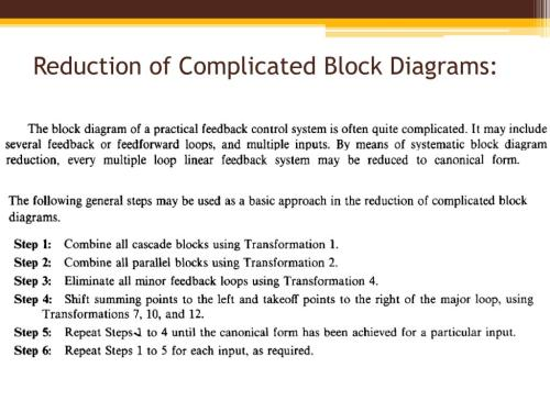 small resolution of reduction of complicated block diagrams