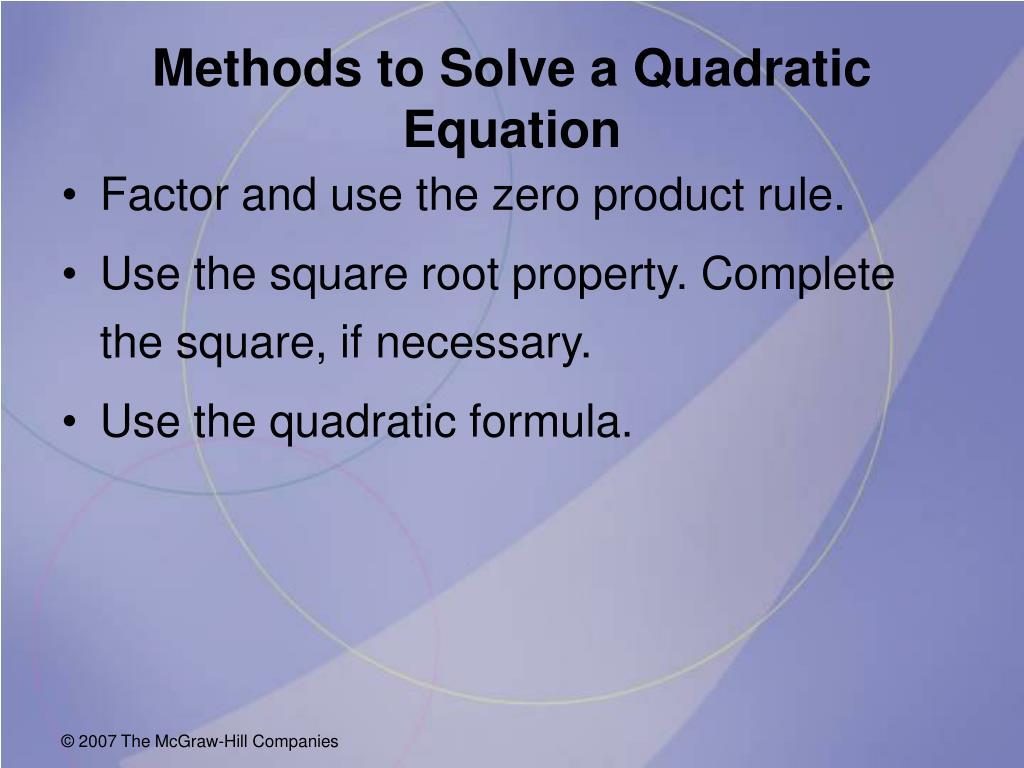 Property Zero Product Property Formula