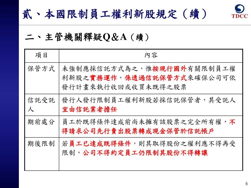 PPT - 限 制 員 工 權 利 新 股 帳 簿 劃 撥 作 業 說 明 PowerPoint Presentation - ID:6315031