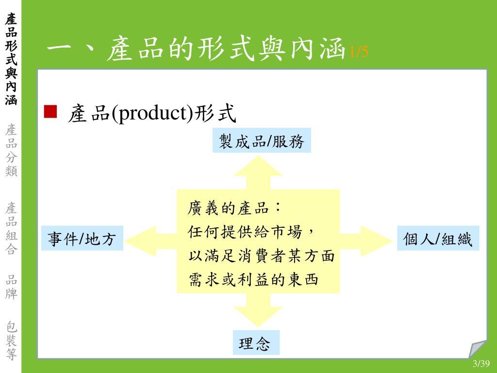 PPT - 產品 基本概念 與 產品屬性 PowerPoint Presentation - ID:6328706