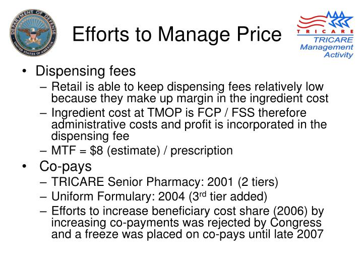 PPT  Preserve the Benefit An Overview of DoD Pharmacy