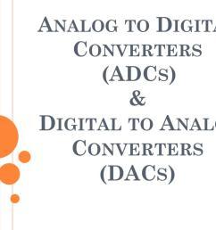 analog to digital converters adcs digital to analog converters dacs powerpoint ppt presentation [ 1024 x 768 Pixel ]
