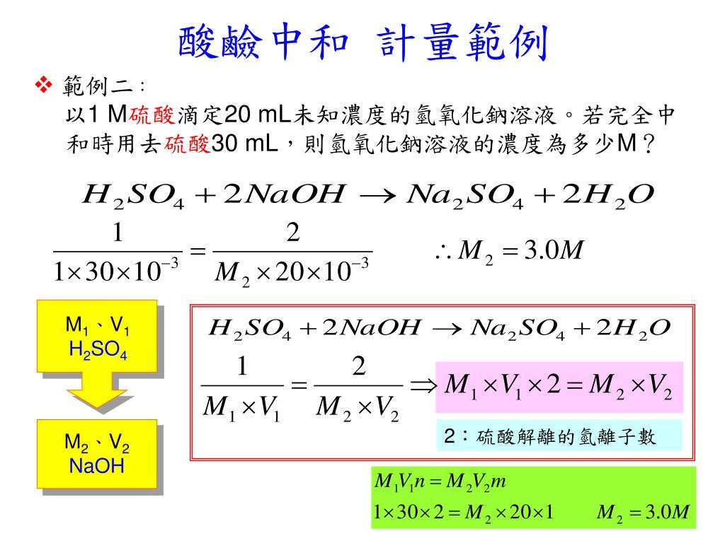 PPT - 課程名稱:酸鹼中和與鹽類 PowerPoint Presentation. free download - ID:6420756