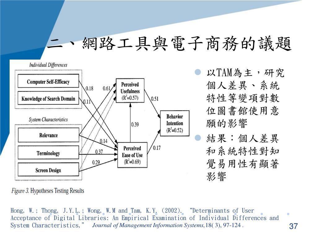 PPT - 資訊管理理論 第七章 科技接受模式 PowerPoint Presentation - ID:6491453