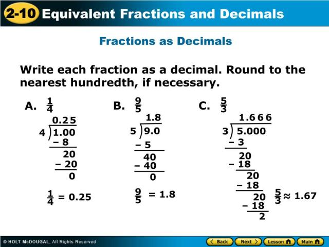 PPT - Warm Up Write each fraction in the simplest form. 288. 28. 28. 28