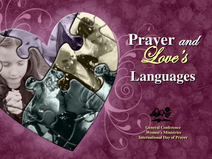 PPT - Prayer and Love's Languages PowerPoint Presentation, free download - ID:6588777