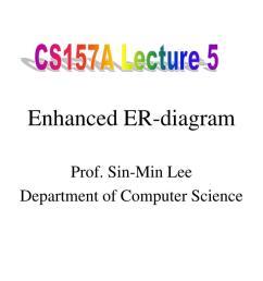 cs157a lecture 5 enhanced er diagram  [ 1024 x 768 Pixel ]