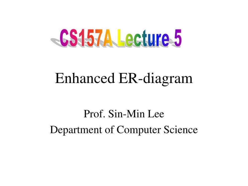 medium resolution of cs157a lecture 5 enhanced er diagram