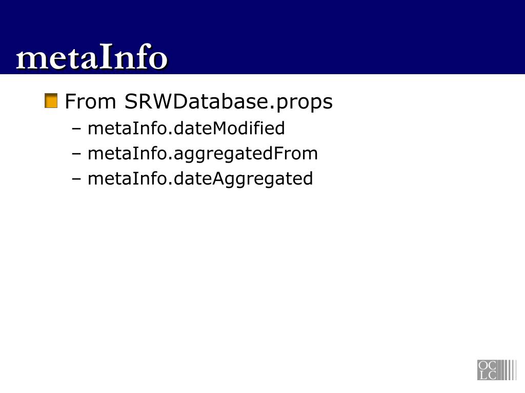 PPT - SRU and Lucene PowerPoint Presentation, free download - ID:6659737