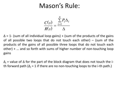 small resolution of mason s rule