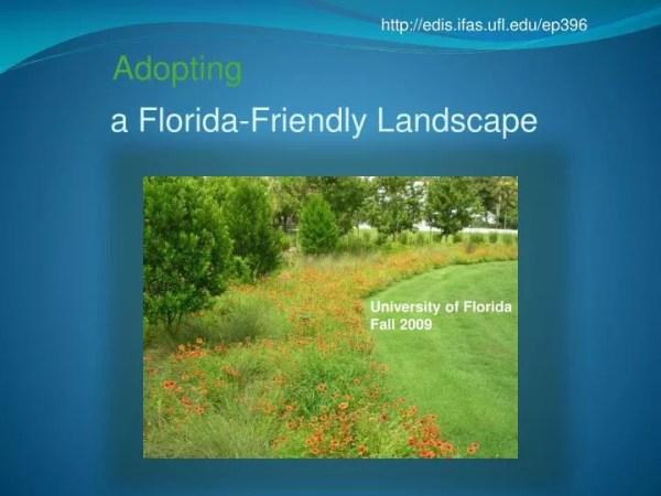 ppt - florida-friendly landscape