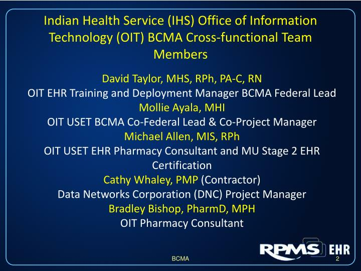 PPT  Electronic Medication Administration Record with Assistive Technology PowerPoint