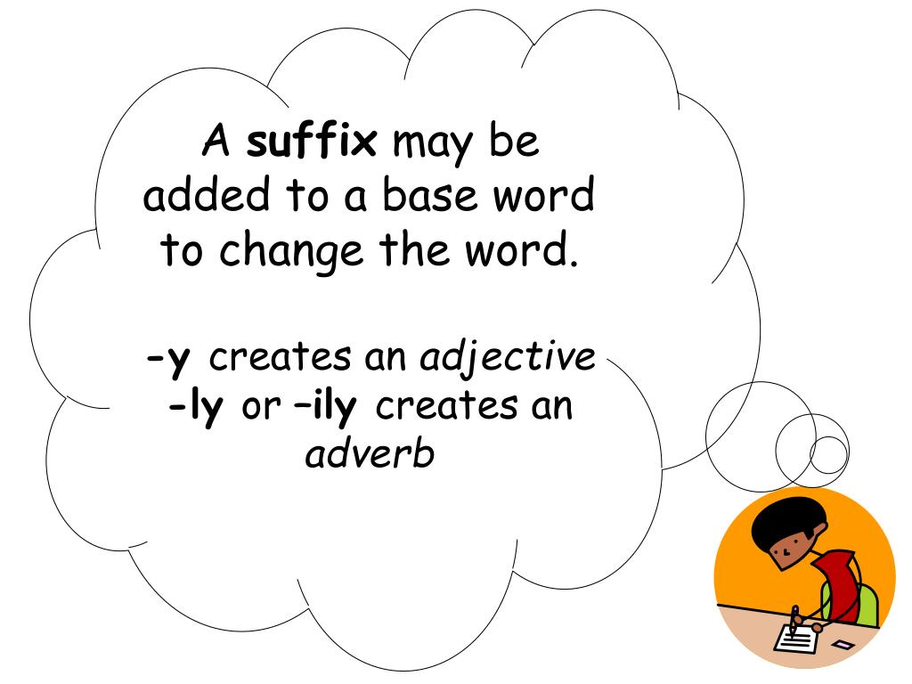 PPT - Derivational Relations: Sort 5 (Suffixes