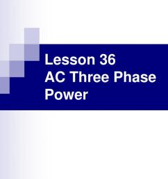lesson 36 ac three phase power n  [ 1024 x 768 Pixel ]
