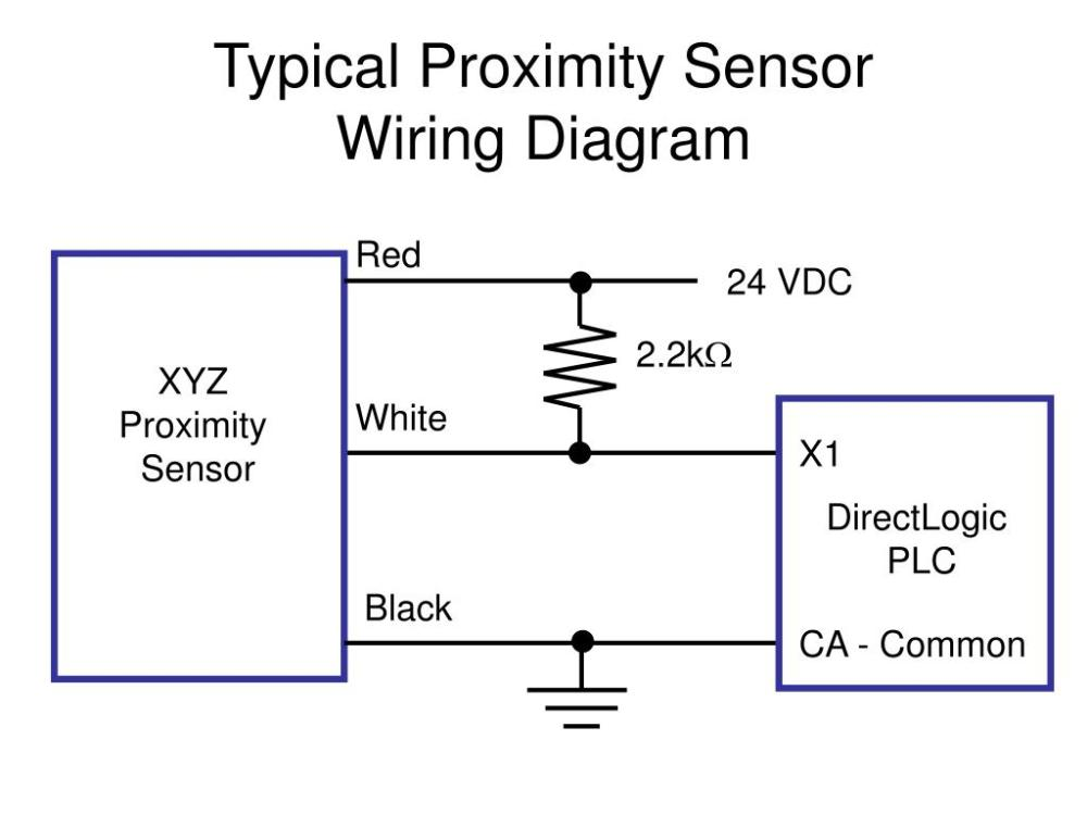 medium resolution of ppt typical proximity sensor wiring diagram powerpoint presentation id 6729640